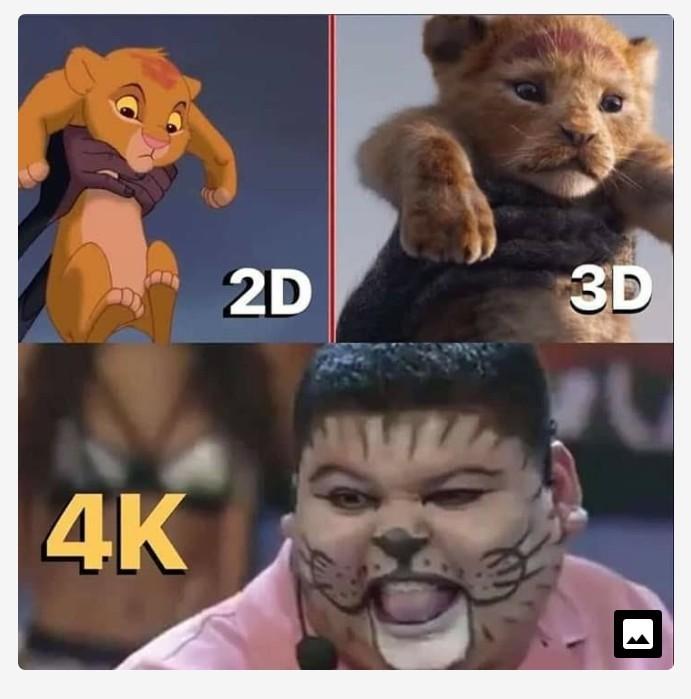 Pra quem tiver 4K - meme