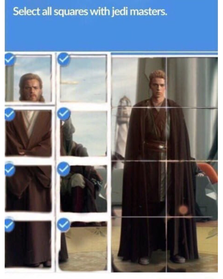 Jedi master - meme