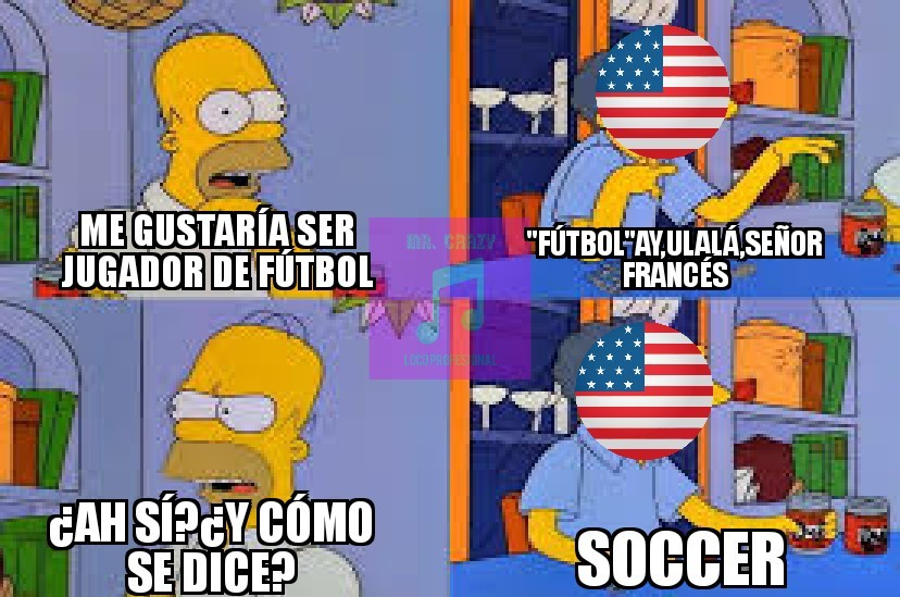 USA AND THE SOCCER - meme