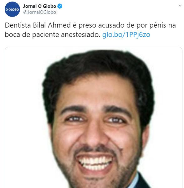 Dentista Bilal está um relacionamento sério com Dr Bumbum. - meme