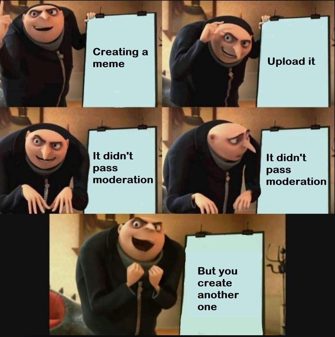 Moderation - meme
