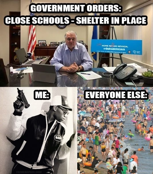 Shelter In Place - meme