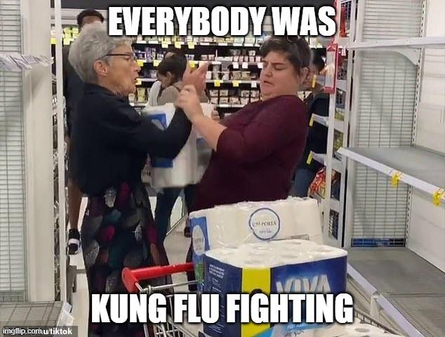 Kung Flu Fighting - meme