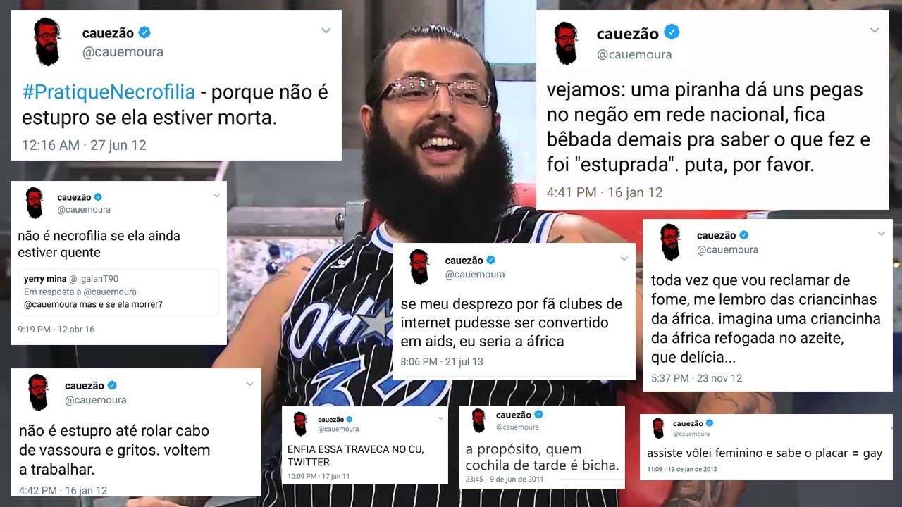 Ele pode falar a merda que quiser pois está no lado certo (o lado dos esquerdistas de merda), diferente do Danilo Gentili por exemplo. - meme