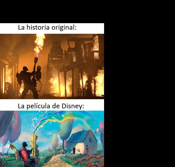 Los cuentos originales eran mas perturbadores - meme