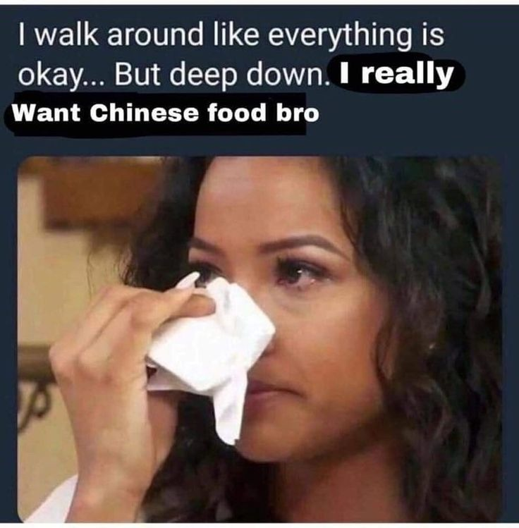 Sweet and sour chicken tho - meme