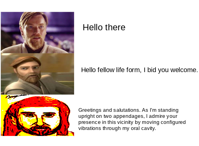 hELLo tHeRe - meme