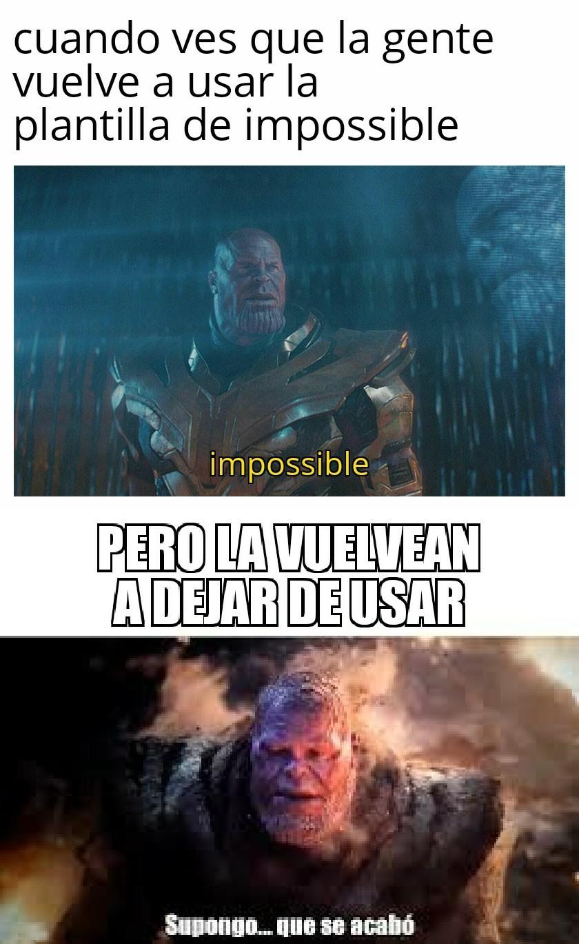 Muchos memes de thanos :v