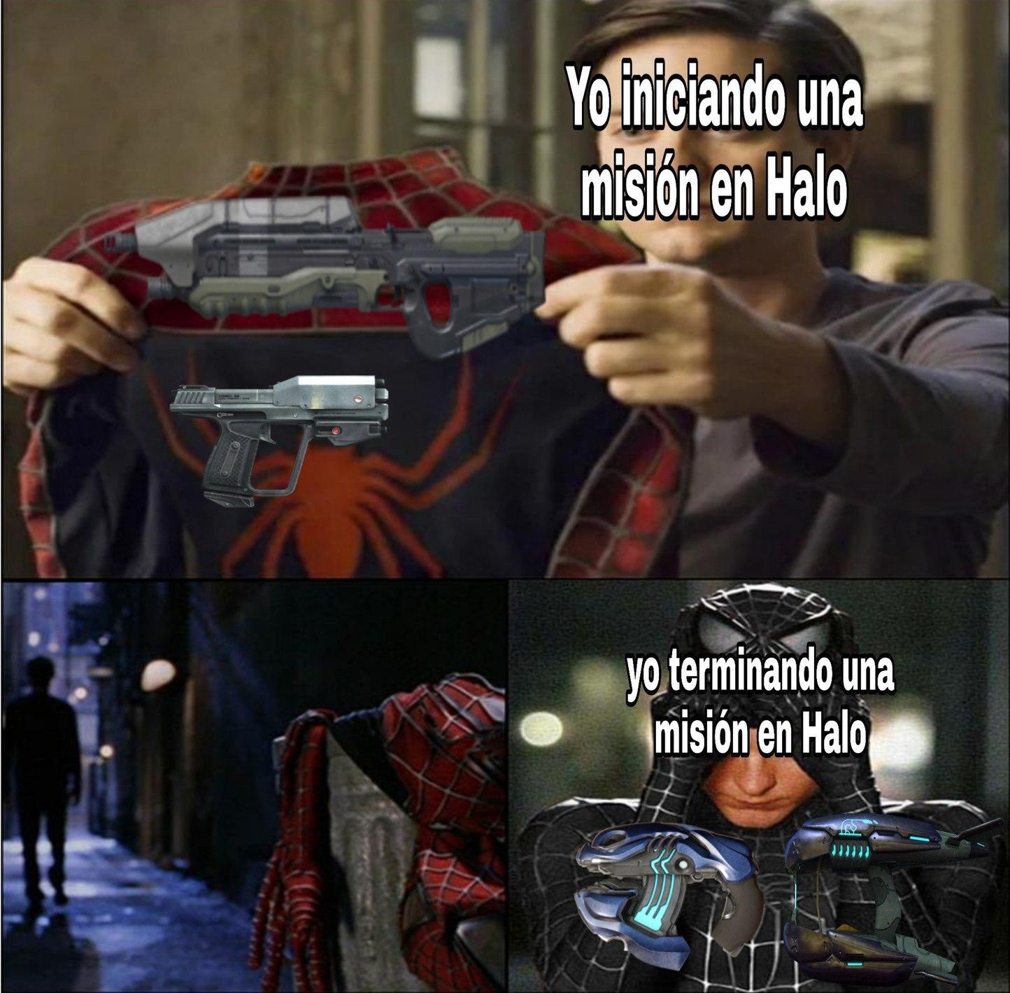 Maldito Covenant, tiene una gran variedad de armas - meme