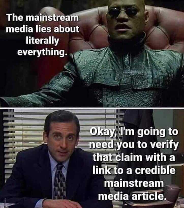 mainstream is the way - meme