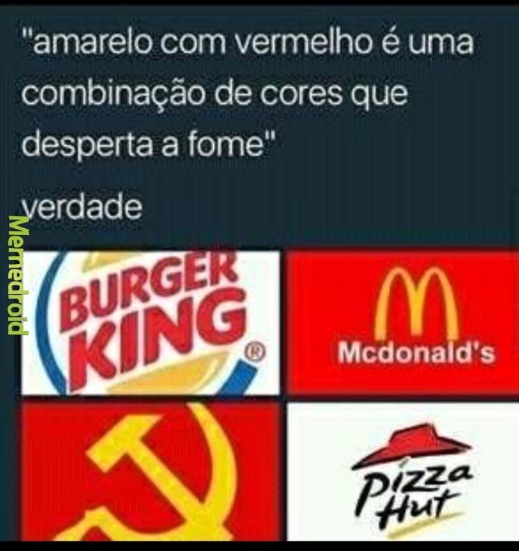 QUE FOME DO CARALHO - meme