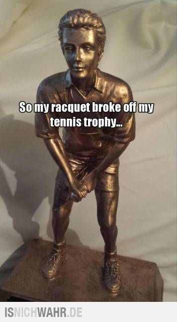 Tennis raquet - meme