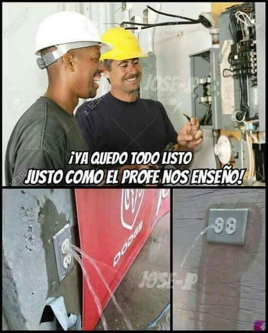 Ingeniería de primer mundo  - meme