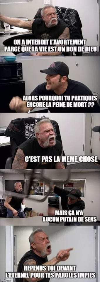 TES PAROLES IMPIES - meme