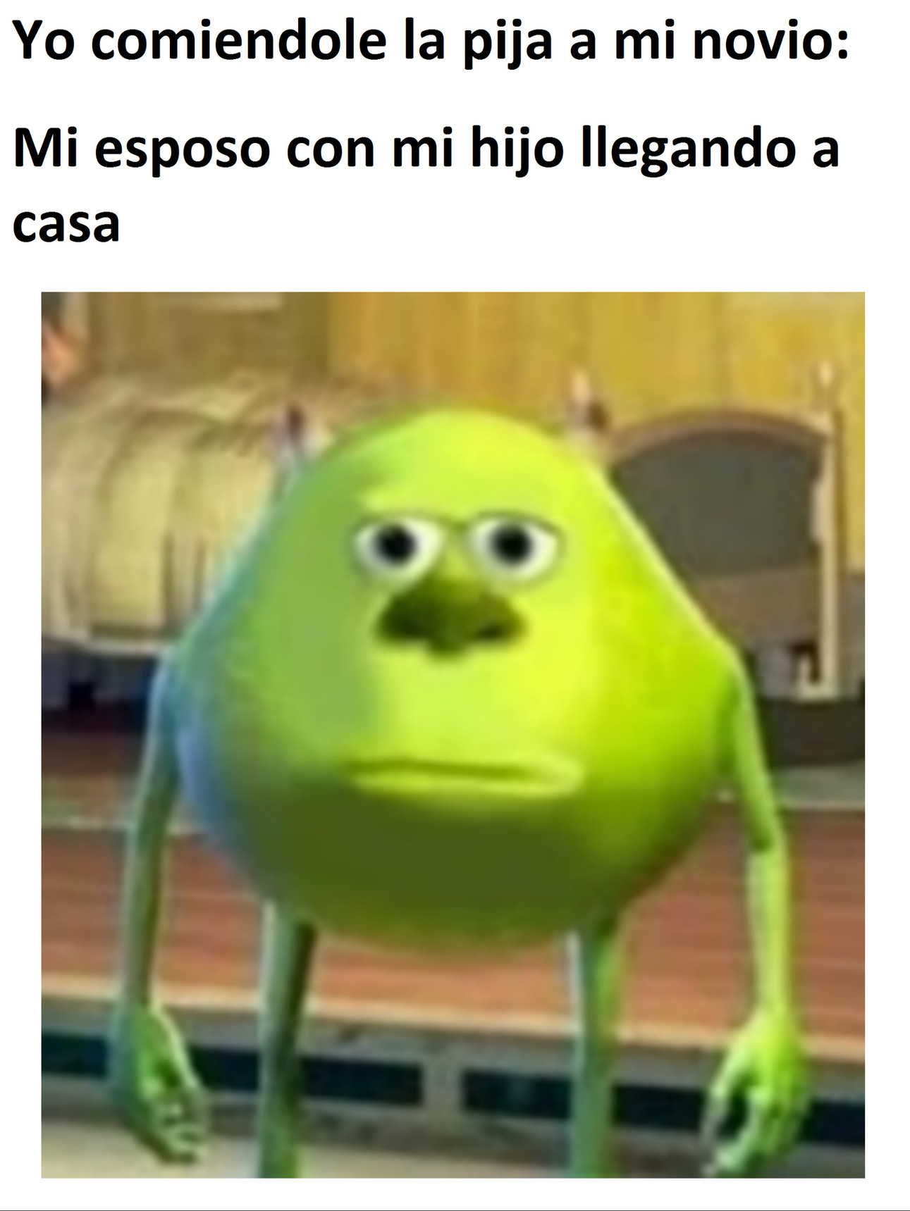 Wazowski memes en español