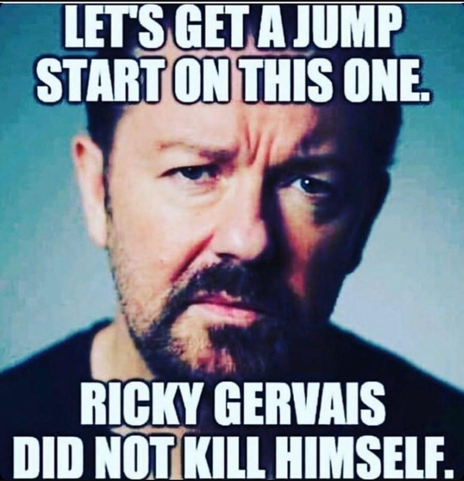 Didnt kill himself - meme