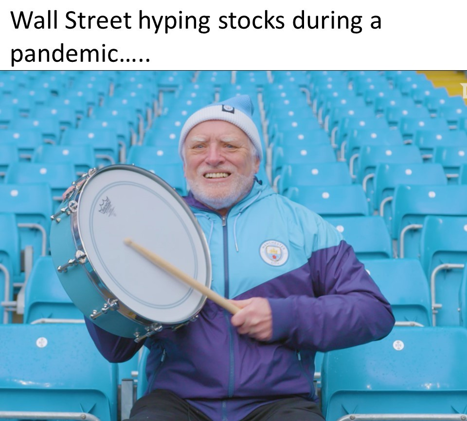 Hide the Pain Wall Street - meme