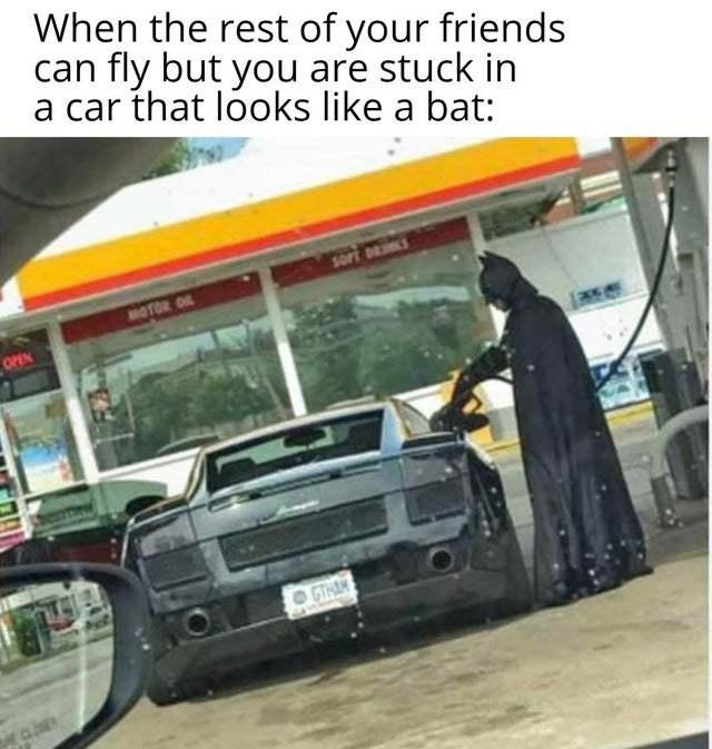 don,t be sad batman - meme
