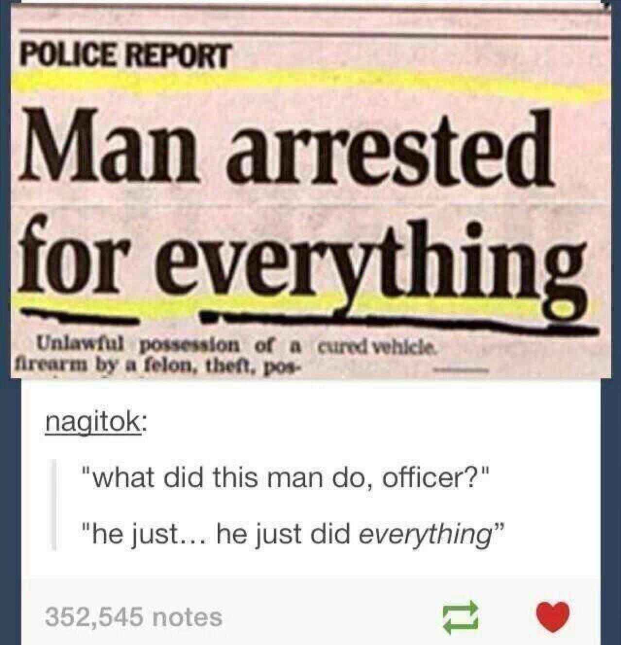 Everything... - meme