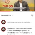 """vao no canal """"PSOL na camara"""" e positivem meu comentário amtes que eles apaguem!!!"""