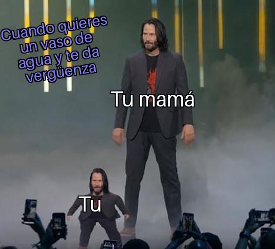 De pequeños - meme