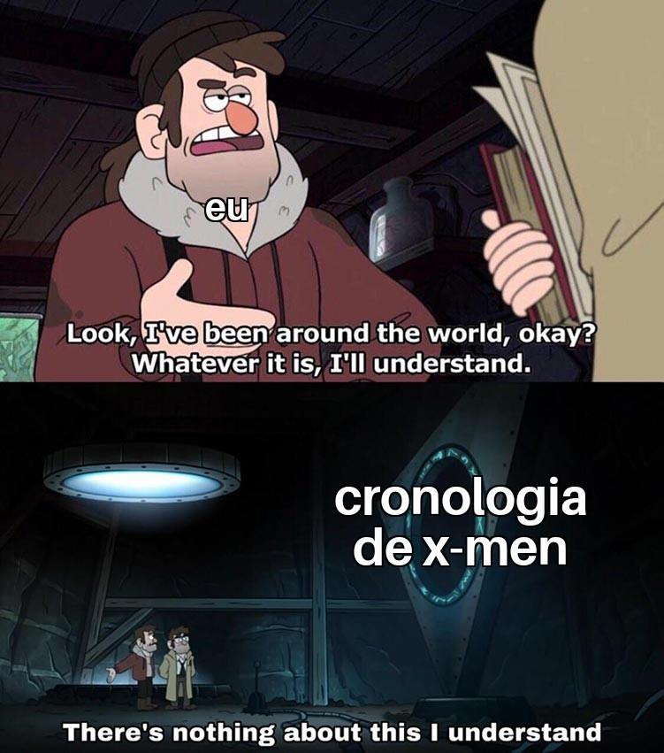 x homen - meme