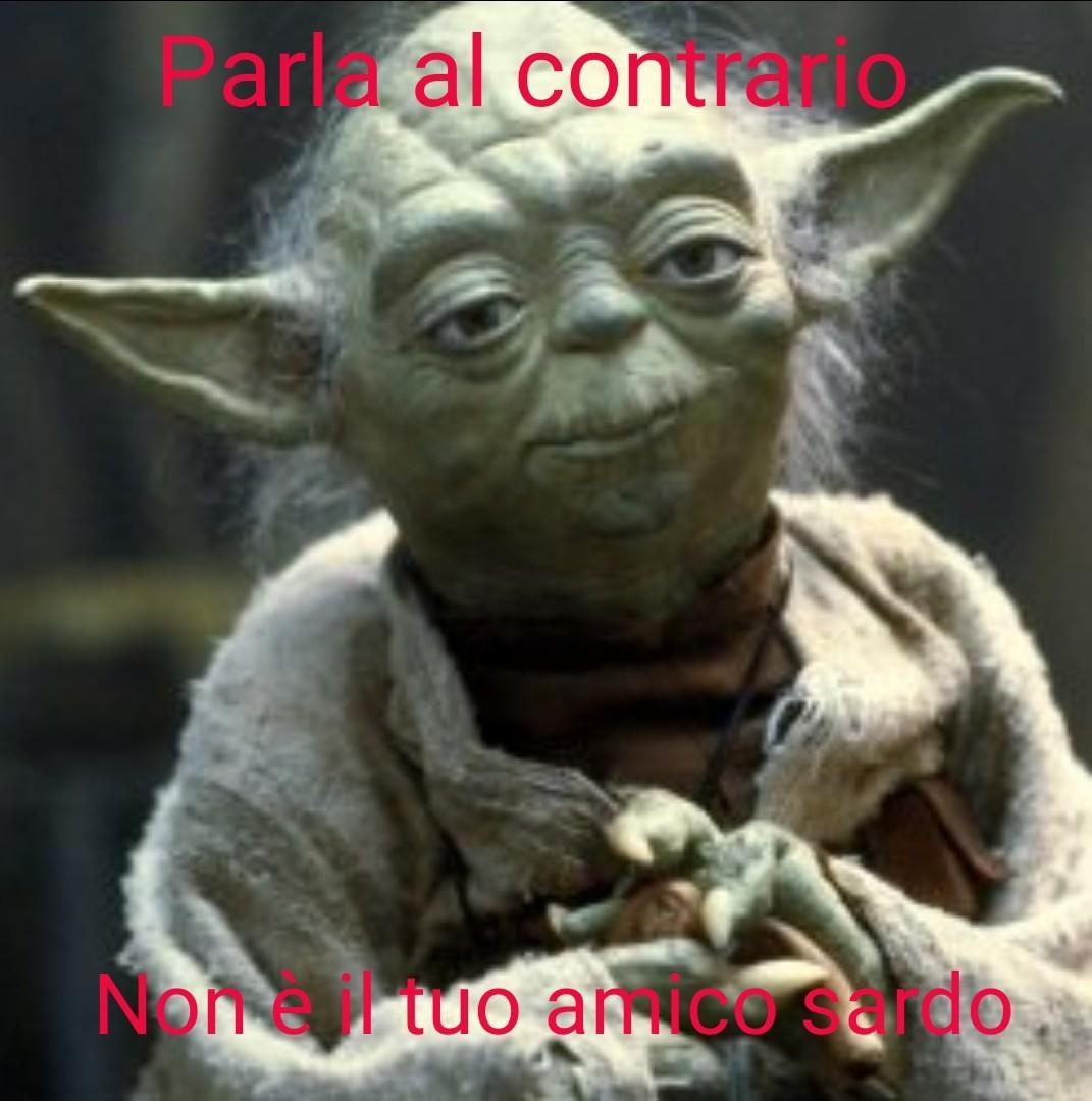 Yoda versione sardo - meme
