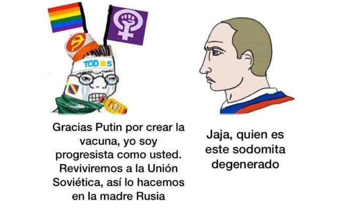 Creditos al canal Baires Medios - meme
