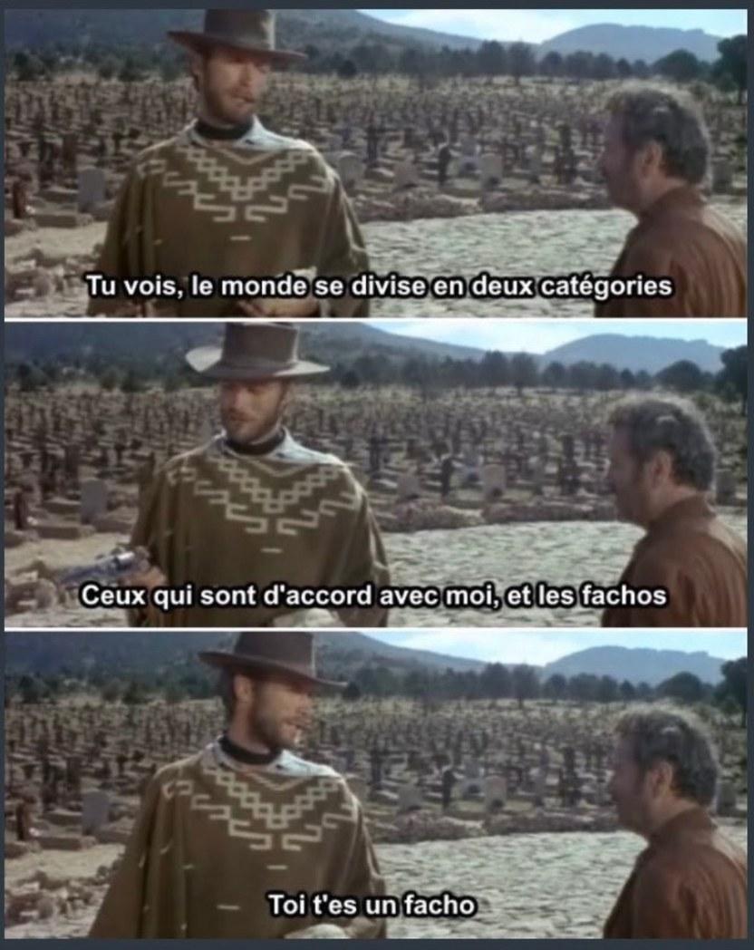 La gauche be like - meme