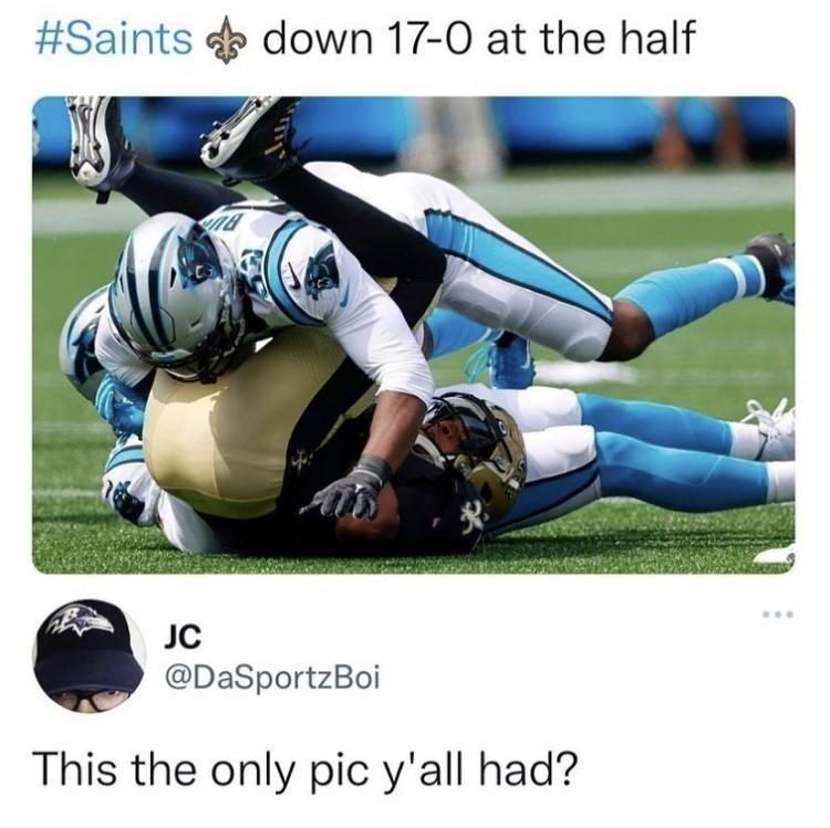 Not my saints :( - meme
