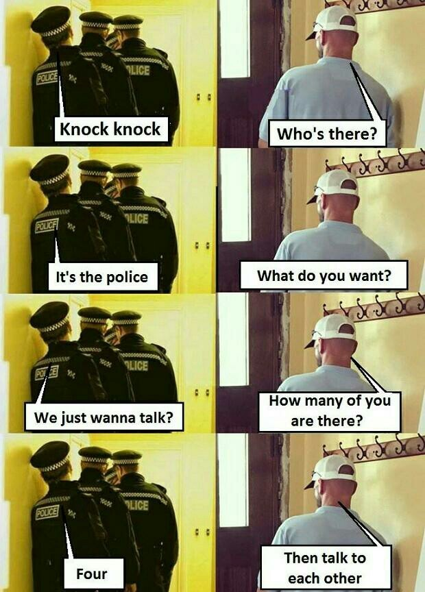 Police - meme