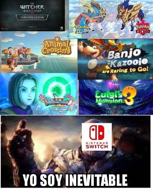 El mejor nintendo direct del E3 de la historia - meme