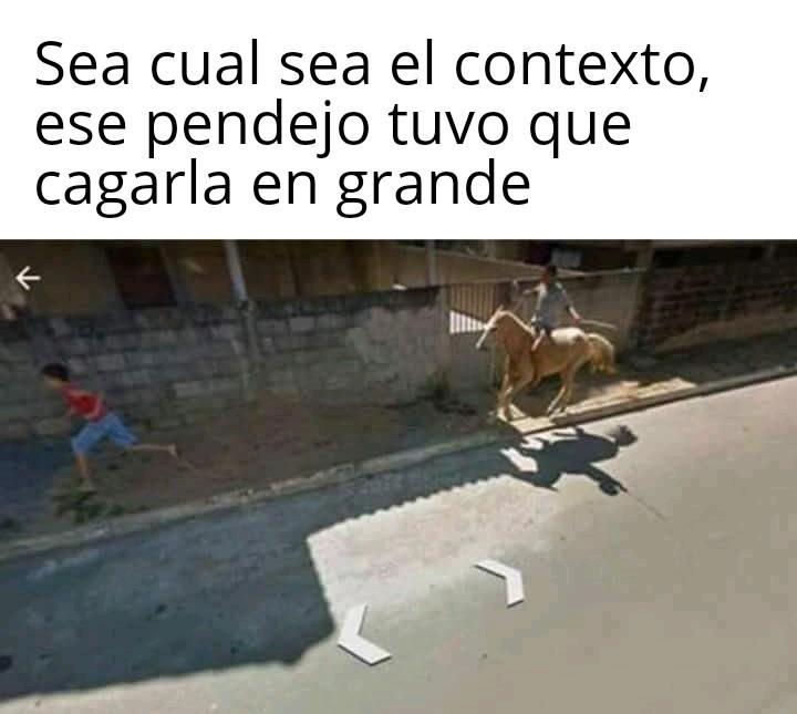 El caballo xd - meme
