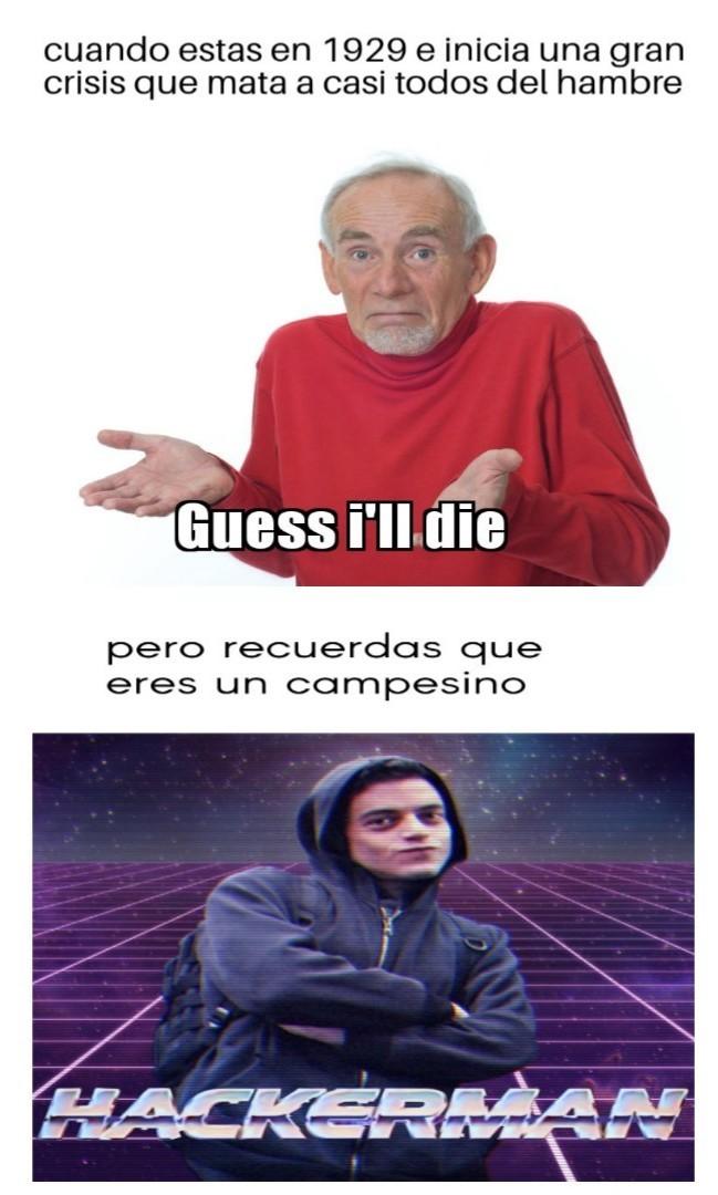 Meme de la crisis del 29