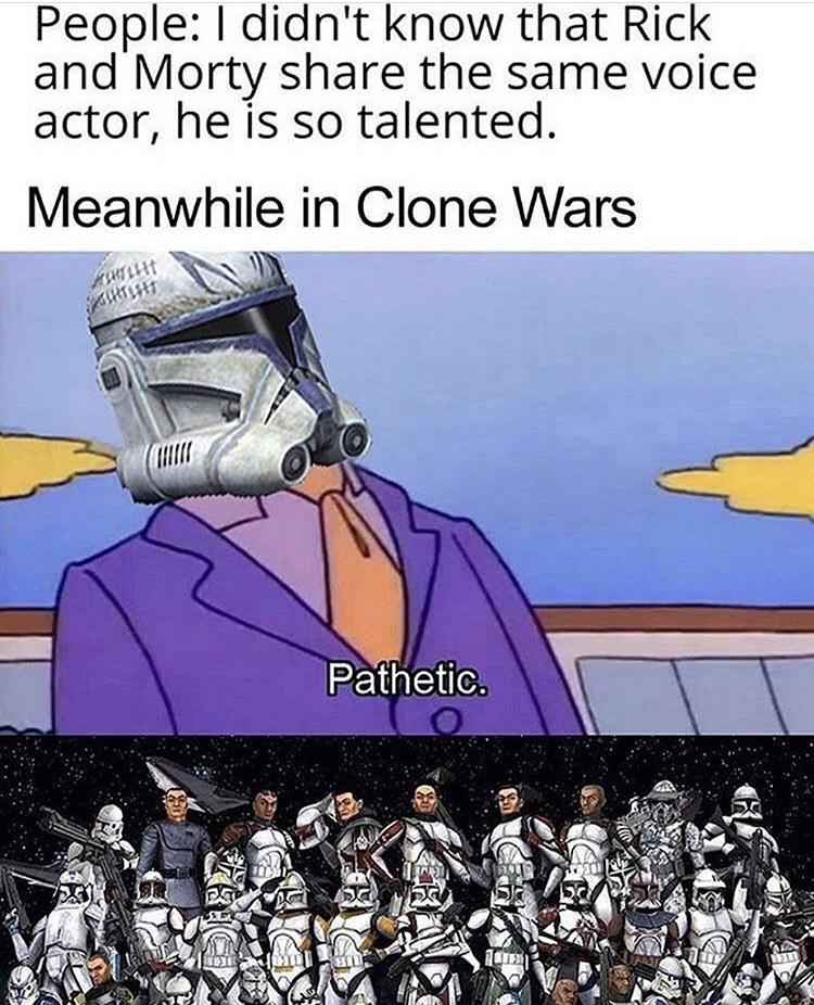 laughs in Jedi - meme
