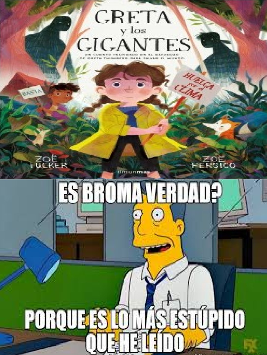 NOS VA A SALVAR A TODOS ...... - meme