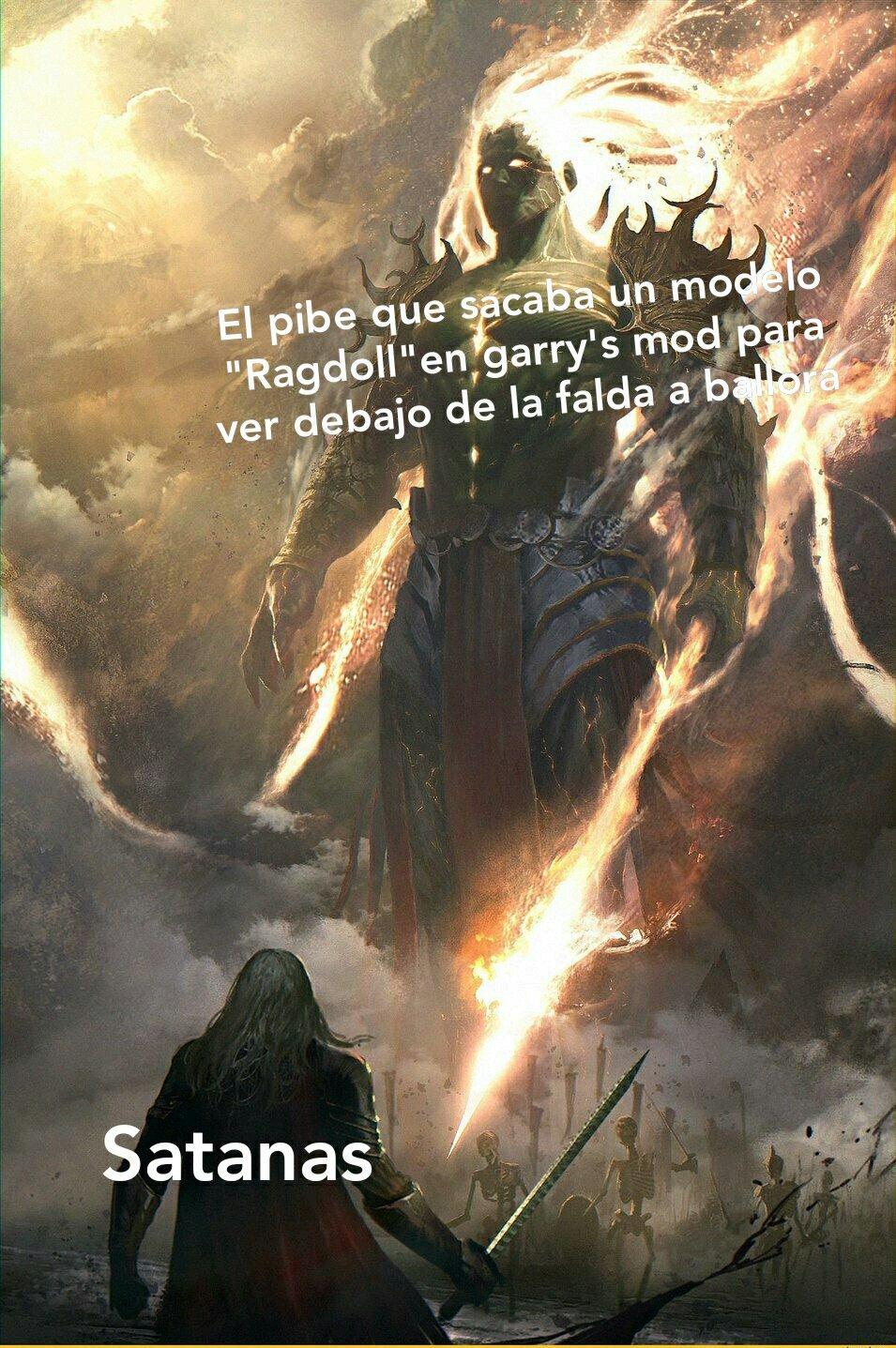 El garry's mod literal - meme