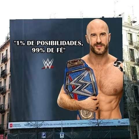El título fue eliminado del Royal rumble - meme