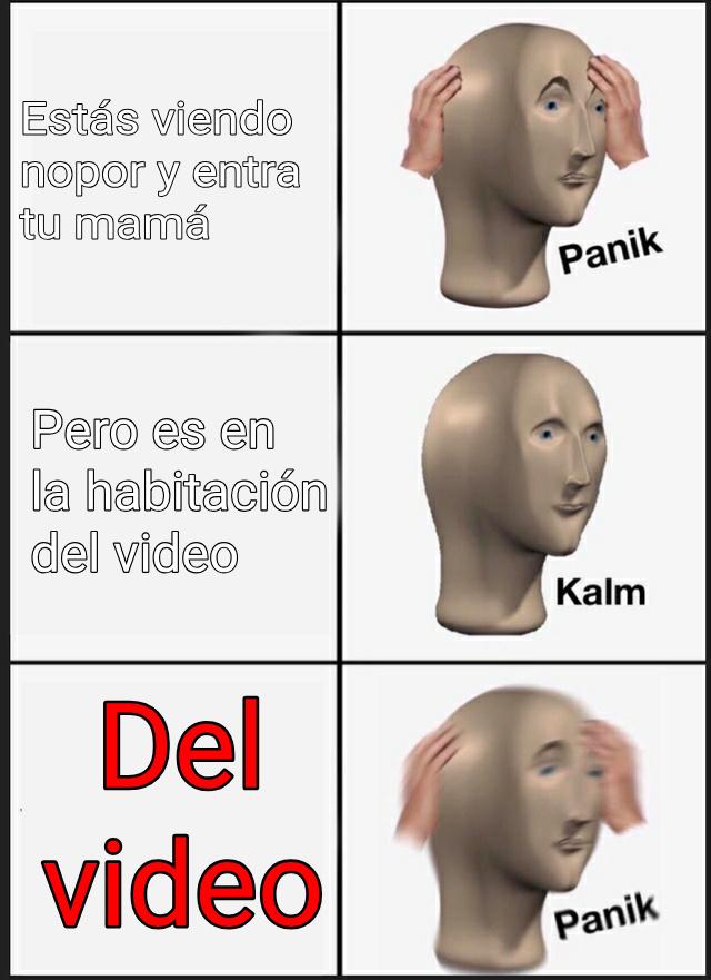 Del vídeo - meme
