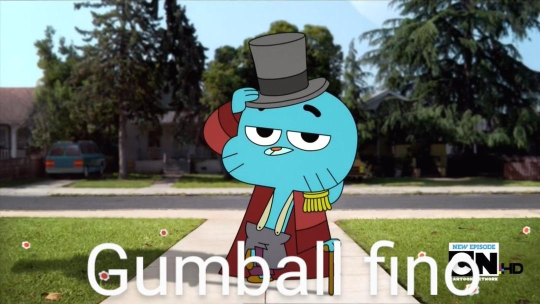 Gumball fino - meme