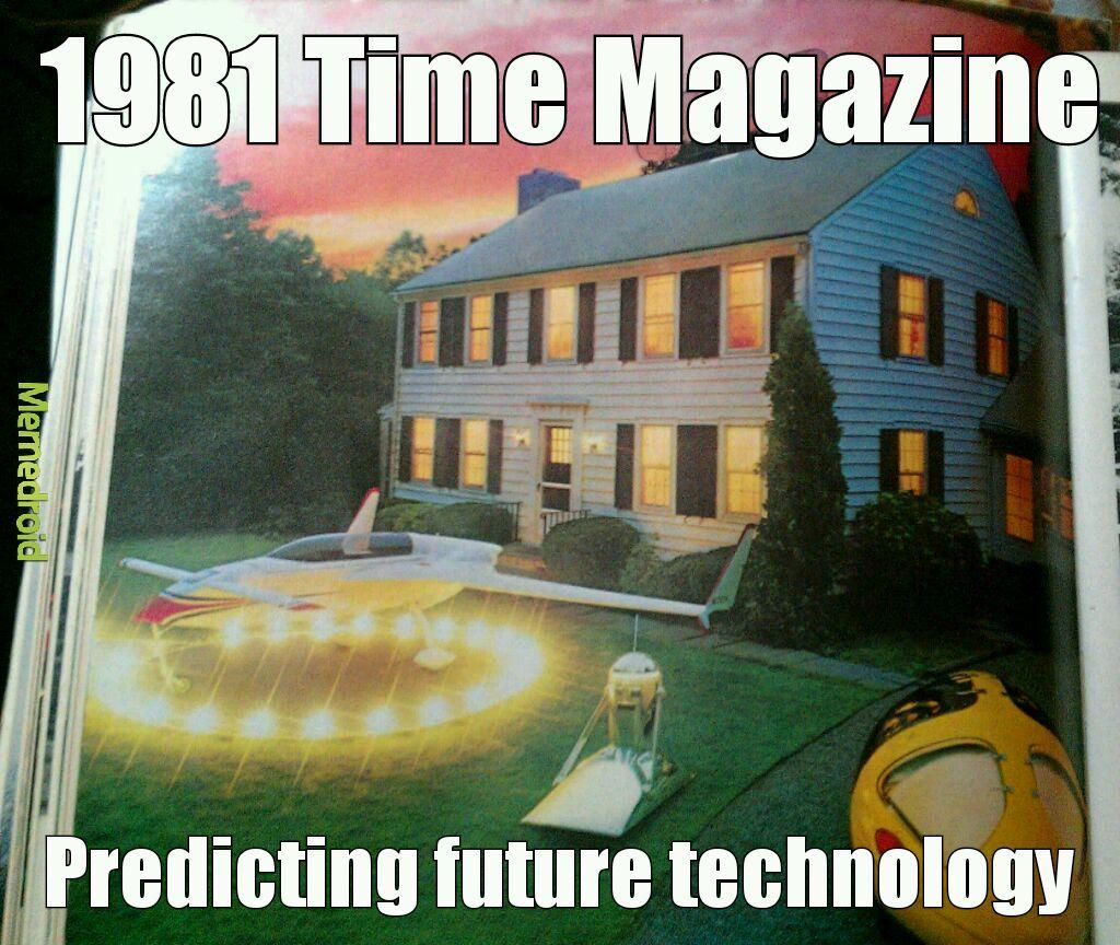 Predicting life in the new Millennium - meme