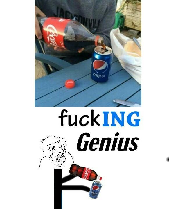 FUKING GENIUS - meme