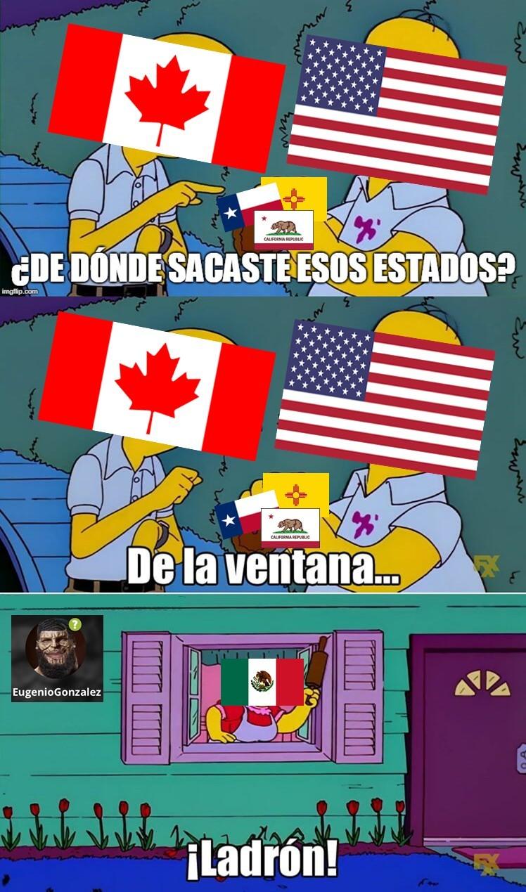 MALDITOS NORTEAMERICANOS!!! - meme