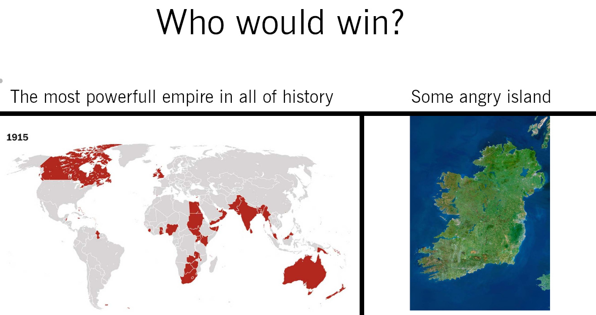 Irish war of independence - meme