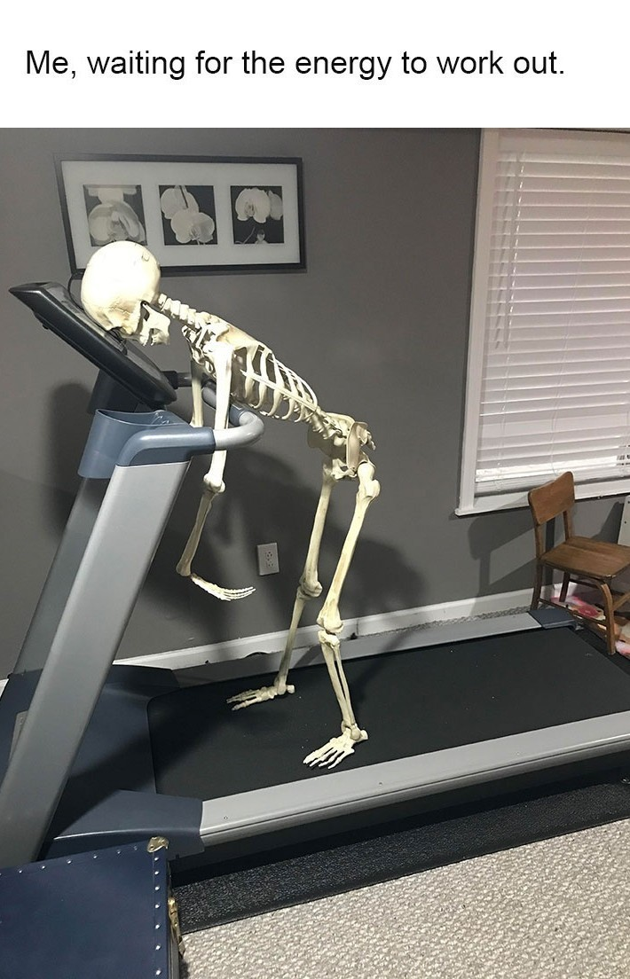 Dying skeleton - meme