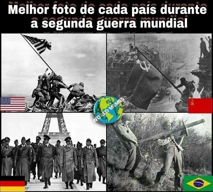 Segunda guerra mundial - meme