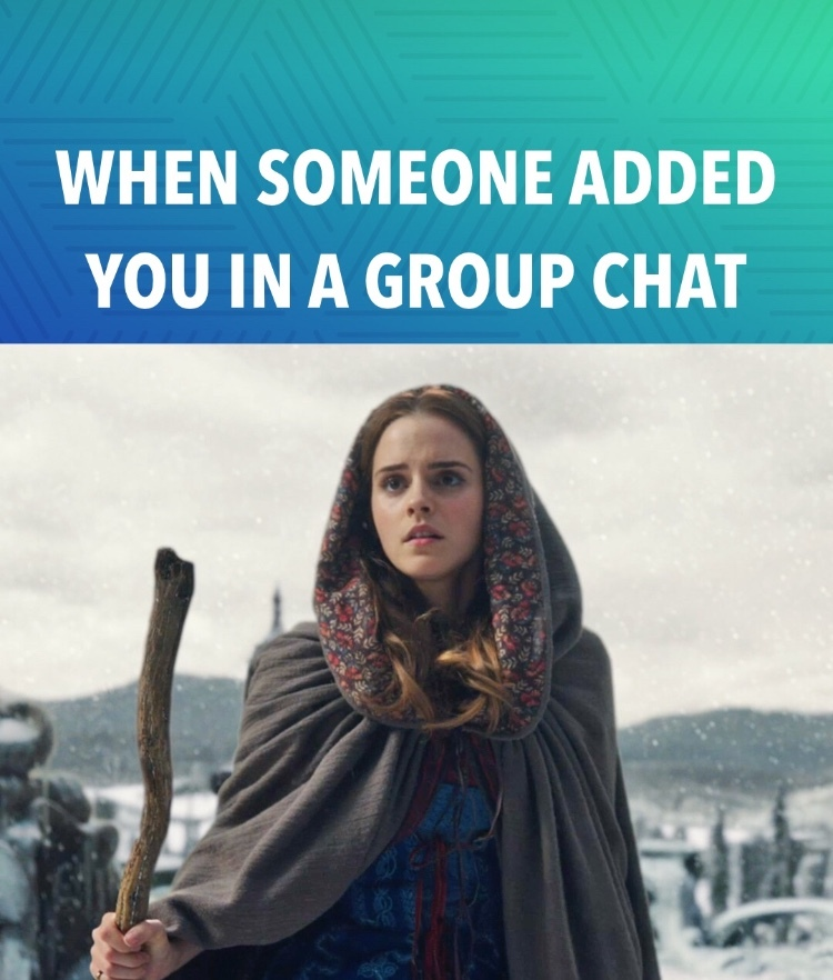 group chat struggles - meme