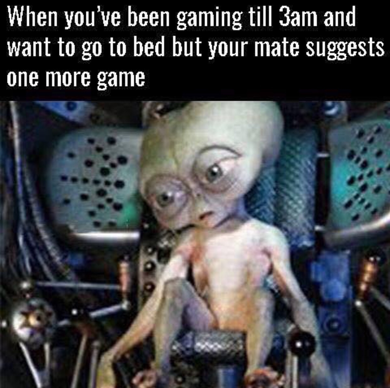 hardcore gamers be like... - meme