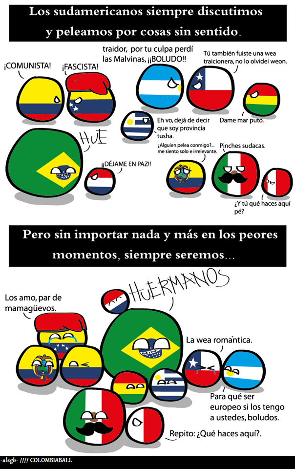 Sudamerica - meme