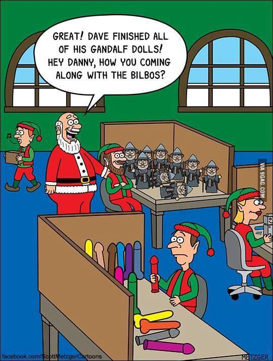 everything is a Santa of you are dave enough - meme